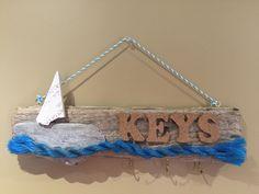 Driftwood key holder