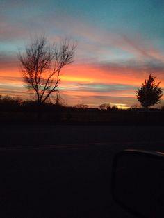 Prague, Oklahoma Sunset