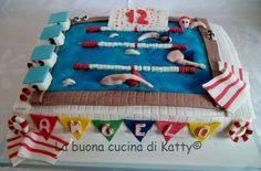 La buona cucina di Katty: Torta piscina in allegria