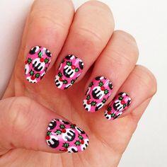 christmas by theillustratednail #nail #nails #nailart
