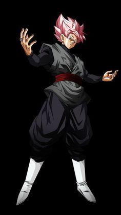 Black Goku ssj Rose by on DeviantArt Dragon Z, Black Dragon, Dragon Ball Gt, Black Goku, Dbz, Goku 2, Majin Boo Kid, Akira, Evil Goku