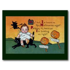 http://rlv.zcache.com/kid_on_cat_and_jol_signposts_vintage_halloween_postcard-rf9c1e95b5e00443fabdf8a8988119892_vgbaq_8byvr_512.jpg
