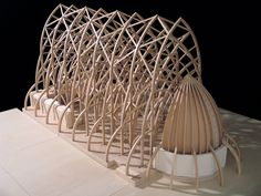 """1/4"""" scale model of the oratory, photo: Milenko Ivanovic"""
