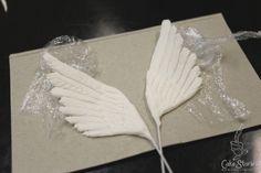 4. Gumpaste Angel Wings