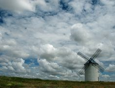 windmill in cuerva, spain   Photo by Kristin Yelle