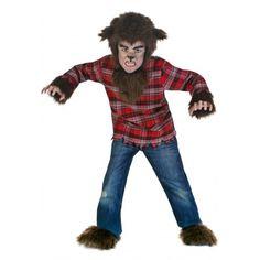Fantasia Infantil Lobisomem Terror Meninos Carnaval Halloween. Preço: R$55