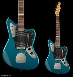 custom modded Fender Jaguar - design/concept proposal for guitarist, Robin Guthrie | Chris Ferebee, 2013 - chrisferebeedesign.com