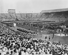 London 1948 Olympic opening ceremony