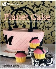 This beautiful and funky cake-decorating book is set out in the style of a course, working from the simplest of cupcakes to amazing complex cakes. The author Paris Cutler, owner of renowned shop Planet Cake, and her staff share their colourful and distinctive designs, but its not only their imaginative creations that make this book so special.