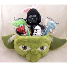 Star Wars Various Easter Candy Yoda Easter Basket Darth Vader Bunny Ears Stuffed Animal