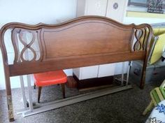 Antique Cherry Dixie Headboard Cherry Wood Bedroom, Bedrooms, Space, Antiques, Storage, Furniture, Home Decor, Floor Space, Antiquities