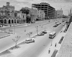 Foto: Cuba La Habana, 1950s Mas fotos de la Avenida Carlos III.