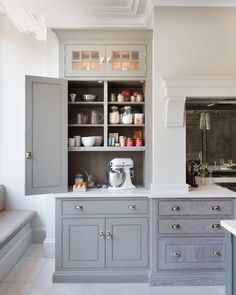 Ideas and expert tips on kitchen cabinet designs so you can create your own dream kitchen. See more ideas about Stoves, Kitchen remodeling and DIY hidden kitchen appliances. Kitchen Cabinet Design, Kitchen Redo, Kitchen Dining, Kitchen Ideas, Dining Area, Ikea New Kitchen, Bakers Kitchen, Beige Kitchen, Kitchen Organization