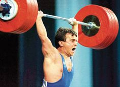"Naim Süleymanoğlu, also known as ""The Pocket Hercules"".  He stands 4 ft 10 in.  He is the second of only seven lifters to ""clean and jerk"" three times their bodyweight in the sport of OLYMPIC WEIGHTLIFTING."