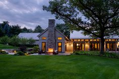 Gregory Lombardi Design How gorgeous is this. Love the fireplace and sitting area as well as the patio to the left.