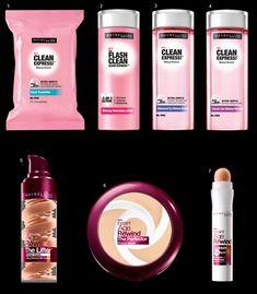 Novidades Maybelline! Veja os últimos produtos lançados lá fora para a pele!