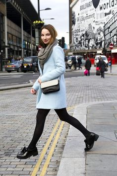 11 Ways To Wear A Skirt During Winter via @WhoWhatWearUK