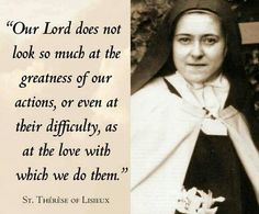 St. Therese of Lisieux!