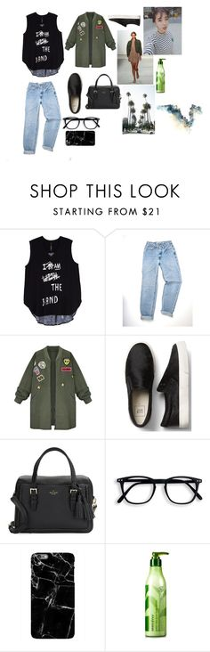 """""""8"""" by anjela-02 ❤ liked on Polyvore featuring Melissa McCarthy Seven7, WithChic, Kate Spade, Marissa Webb, Innisfree and plus size clothing"""