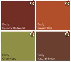 American Craftsman inspired paint colors for my Arts and Crafts