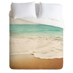 Bree Madden Ombre Beach Duvet Cover | DENY Designs Home Accessories
