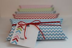 Free Pillow box printables.  Great gift box for gift card, jewelry or treats.
