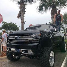biggest jacked up trucks Jacked Up Trucks, Gm Trucks, Diesel Trucks, Cool Trucks, Chevy Trucks, Pickup Trucks, Cool Cars, Chevy Silverado, Silverado 1500