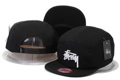 Stussy Snapback All Black|only US$6.00 - follow me to pick up couopons.