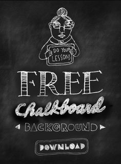 Free Chalkboard Background Download
