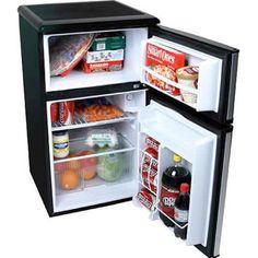 Ft. Compact Refrigerator W/ Freezer, EdgeStar Double Door Office Fridge Part 59