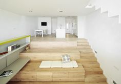 Gallery of Stepped House Toward the Landscape / 05 AM Arquitectura - 3