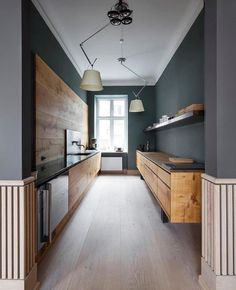 Love this stunning Dinesen kitchen ♡