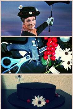 DIY Mary Poppins hat