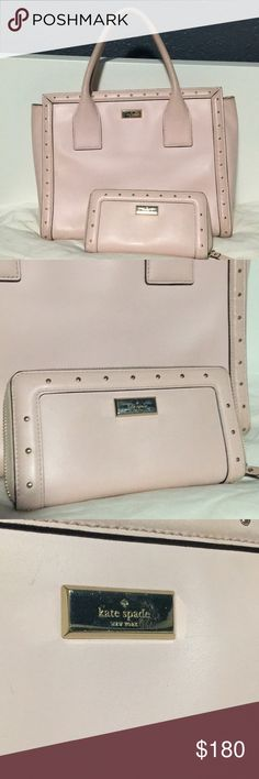 Kate spade helena street tote and wallet Used condition  Wear and tear pictured Bags Totes