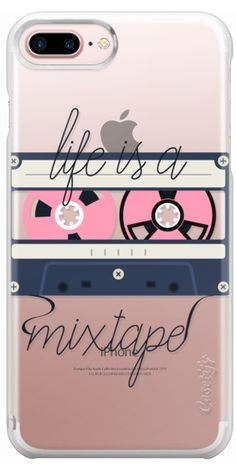 Casetify Protective iPhone 7 Plus Snap Case and iPhone 7 Cases. Other Music iPhone Covers - Life Is A MixTape by Sara Eshak | Casetify