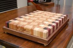 Cutting Board Innovation??? - by wunderaa @ LumberJocks.com ~ woodworking community