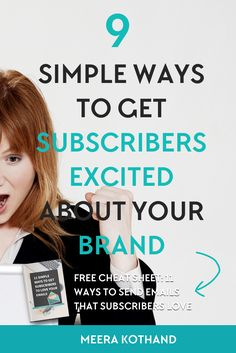Looking for a simple solution to market your blog for free? This simple, untapped solution to market your blog lies inturning your subscribers into brand advocates and getting them excited about your brand.  If you have a list of any size, you have a potential group of brand advocates waiting right there.