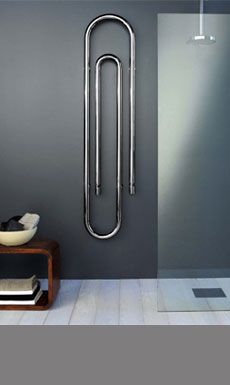 The Vertical Clip Contemporary Heating Radiator (109C)
