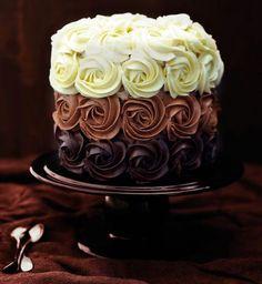 Ombre Cake au chocolat