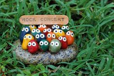 Rock Concert! someone made a lot of money I imagine with this simple cute idea