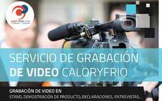 Caloryfrio.com ofrece la posibilidad de grabar videos a los expositores de #Expobiomasa para su posterior divulgación y promoción en diversos medios