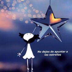 No dejes de apuntar a las estrellas