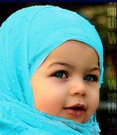 cute baby hijabi