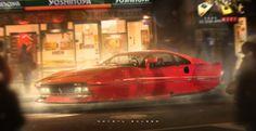 Ferrari 288 - RetroFuturism - by Khyzyl Saleem #InspireArt - #Art #LoveArt http://wp.me/p6qjkV-46z