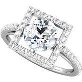 Semi-Mount Engagement Ring