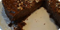 Nutella Cheesecake. Up close and personal. Recipe up now. It's gooey and rich. Perfect!