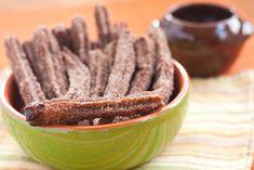 Chocolate churros!