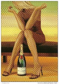 champagne Moet et Chandon - Delcampe.net