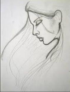 Bildergebnis für girl drawings tumblr easy