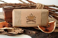 Orange Spice Soap Bar - 4oz